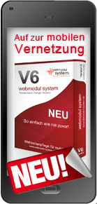 webmodul system Version 6 NEU